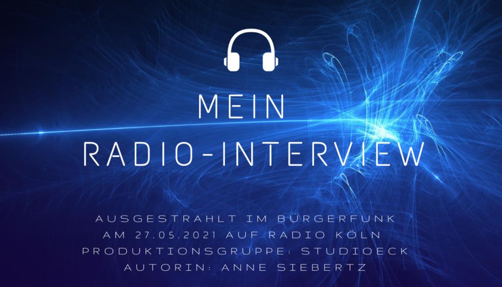 Interview Radio Köln